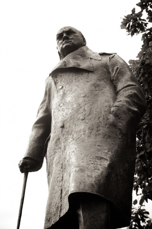 london, statue, Statue of Winston Churchill